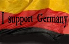 "Wer ""supported"" was? Warum ""supporten"" Deutsche nicht ihr eigenes Land??"
