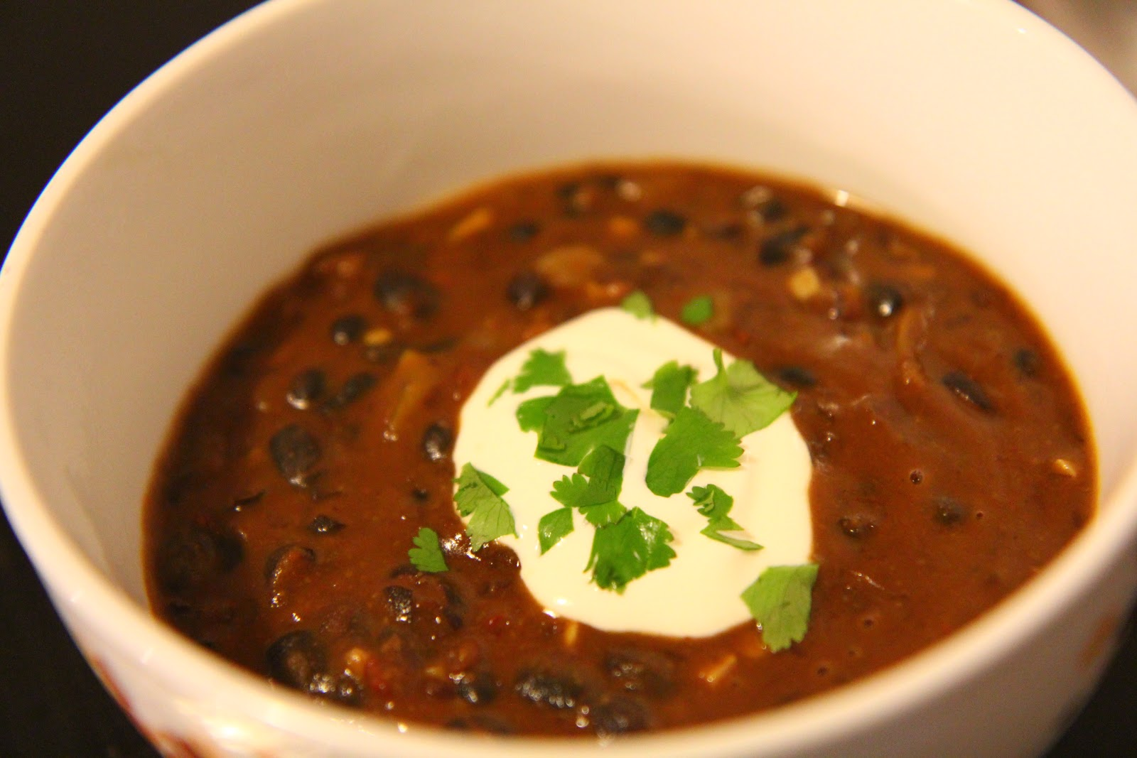 soup thickens and the flavors meld serve the soup into bowls top with ...