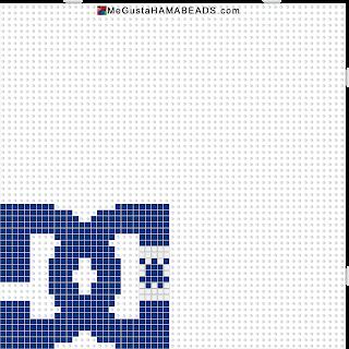 hama beads logo dc