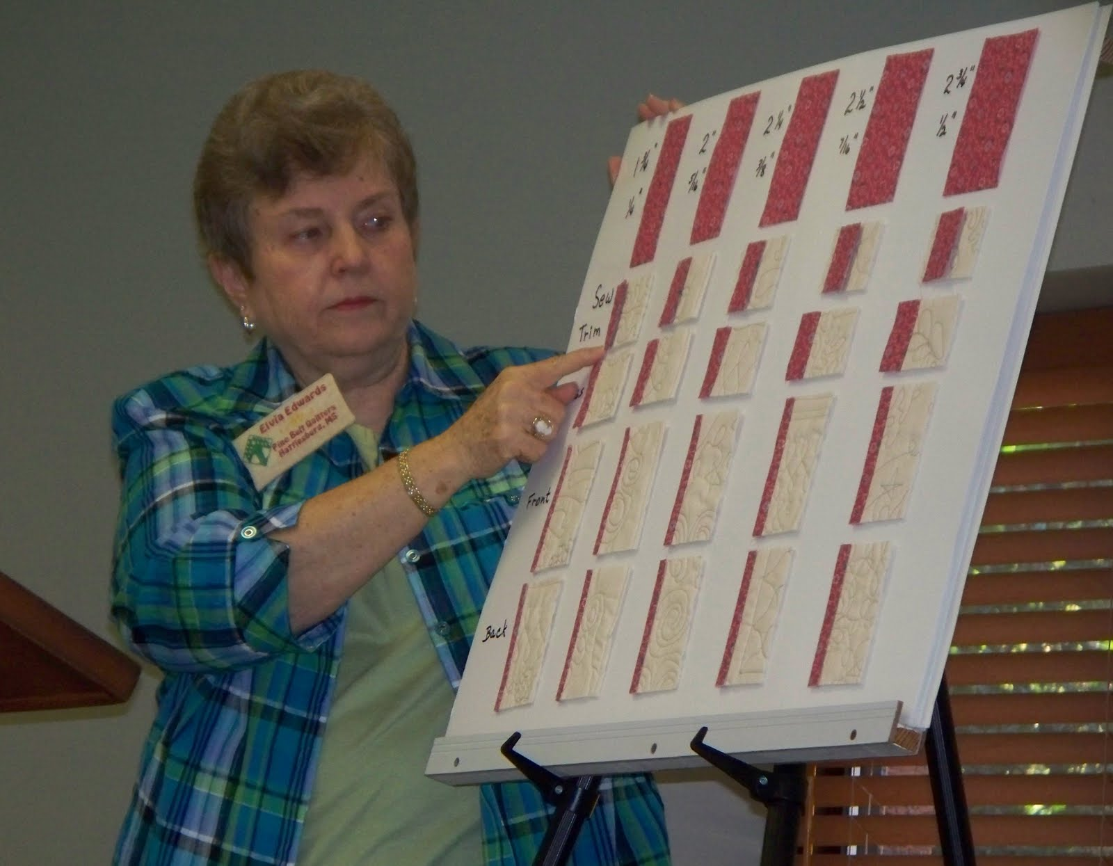 Pine Belt Quilters: How Many Ways Can You Edge Finish a Quilt? : binding width for quilts - Adamdwight.com