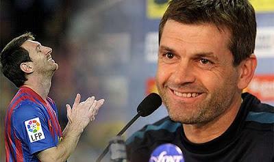 """Vilanova: """"Messi solo no gana los partidos"""""""