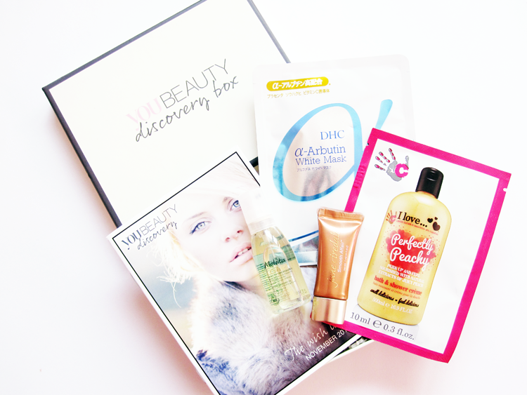 You Beauty Discovery November Box 2015 review