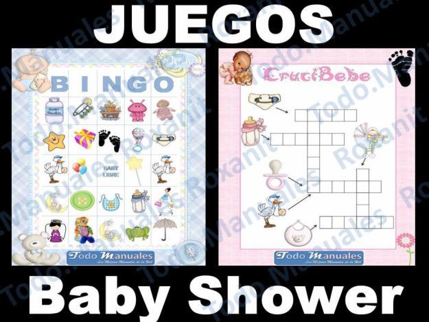 Juegos para para baby shower - Imagui