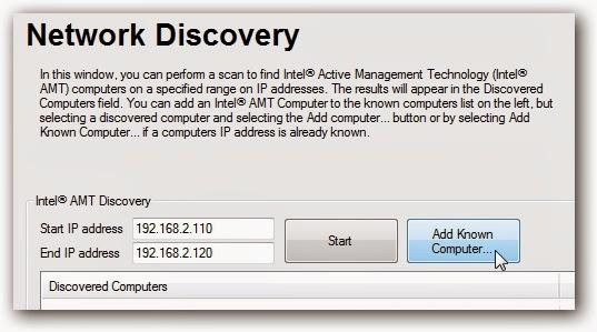التحكم بالكمبيوتر عن بعد باستخدام تقنية Intel vPro