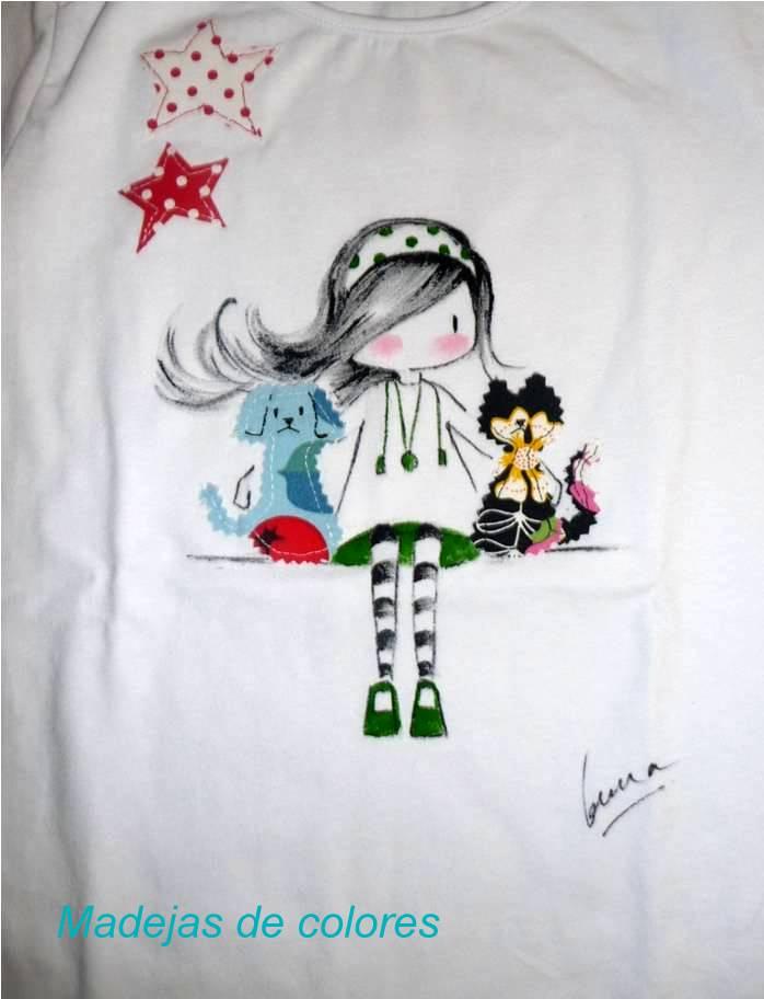 Madejas de colores gema - Telas con dibujos infantiles ...