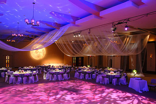 wedding lights and decorations picture