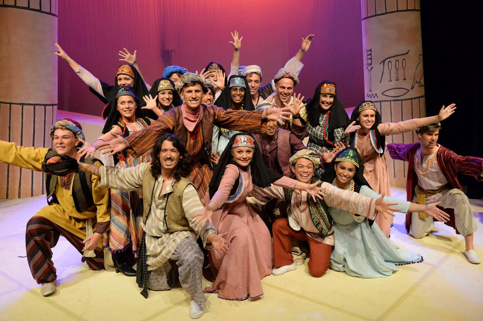 Joseph and the Amazing Technicolor Dreamcoat - Review ... One Direction Names In Words