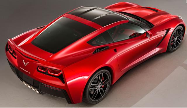Deportivo de lujo Chevrolette Corvette
