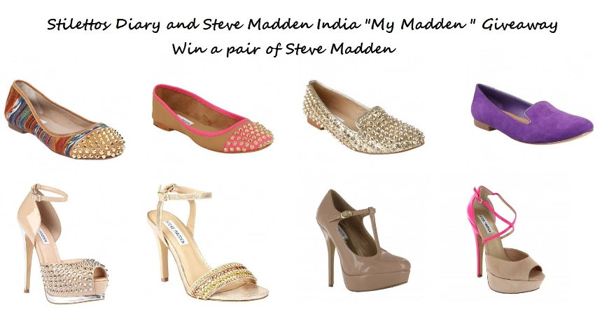 Steve Madden & Stilettos Diary Giveaway