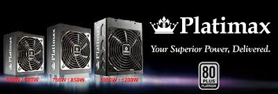 Enermax PLATIMAX power supplies