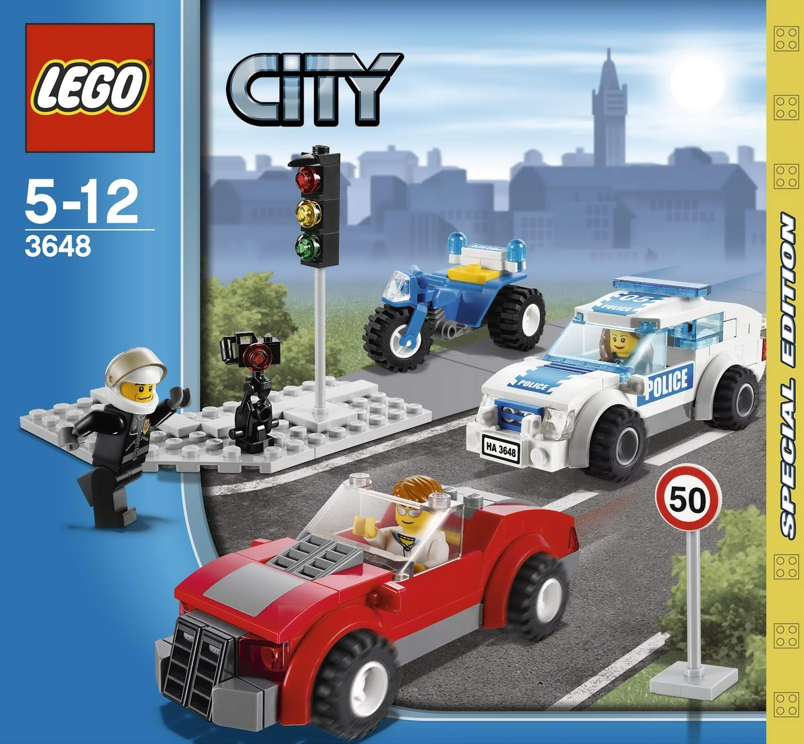 Onetwobrick11 Lego Set Database Set Database Lego 3648 Police Chase