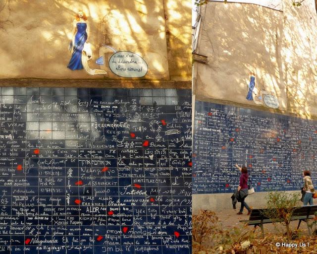 Montmartre - Mur des je t'aime