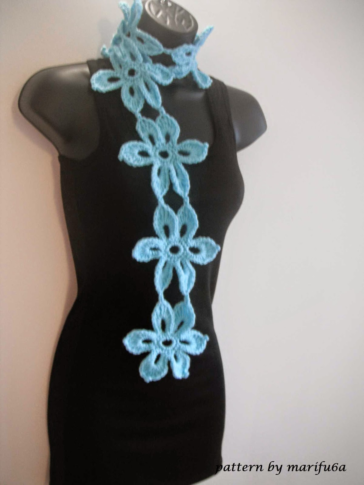 Crochet Stitches Sp : Free crochet patterns and video tutorials: how to crochet mint scarf ...