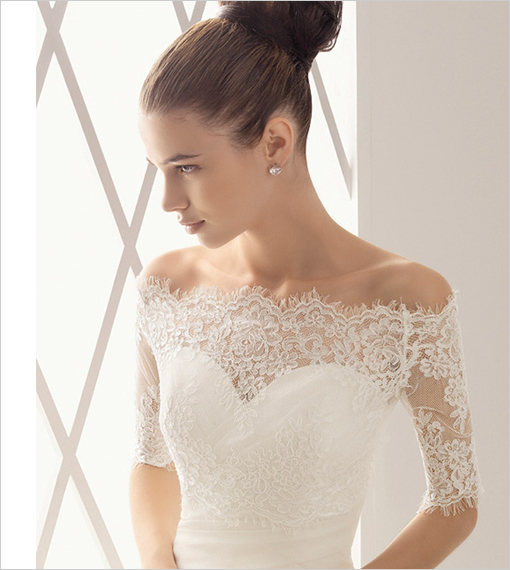 Top Lace Wedding Dresses with Sleeves Jacket 510 x 570 · 200 kB · jpeg