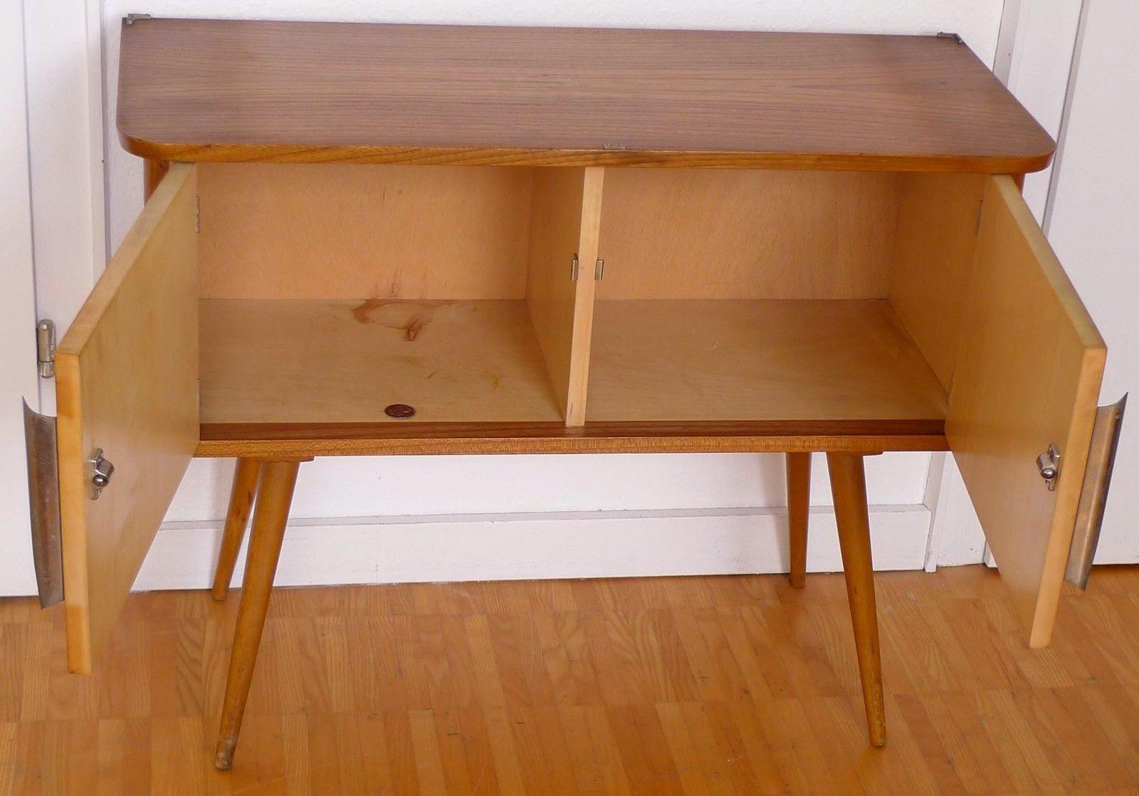 Area dise o vintage mueble auxiliar c moda recibidor aparador de los a os 50 - Mueble anos 50 ...