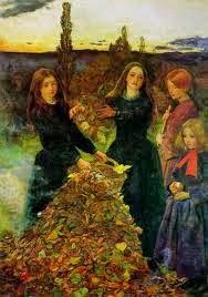 Millais Autumn leaves