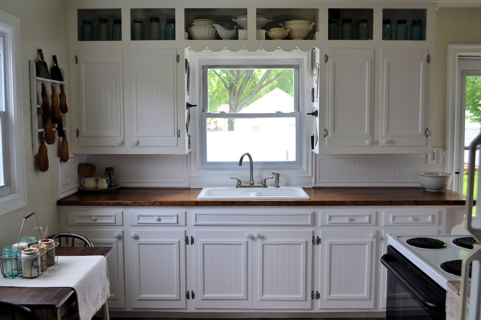 How to Dress Up Plain Kitchen Cabinets