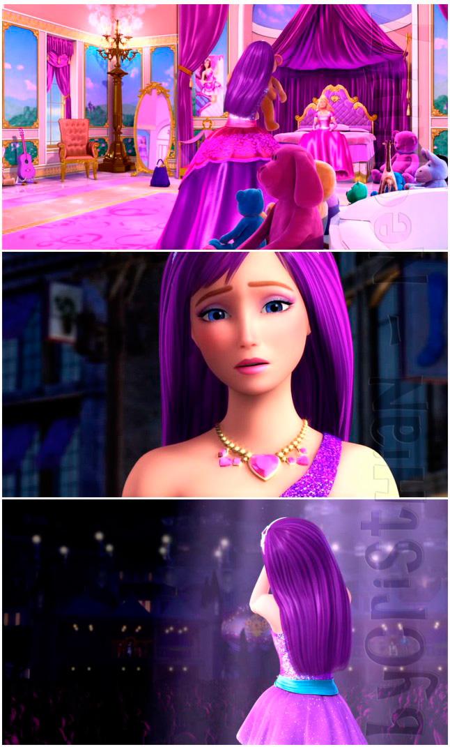 las canciones de barbie la princesa y: