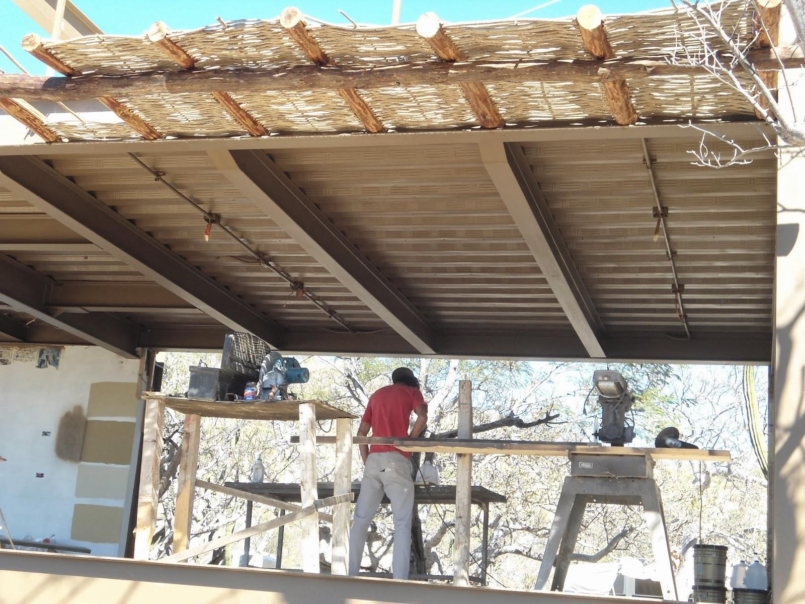 Somos galer a de artesan as coguaype noviembre 2014 - Techos de madera rusticos ...
