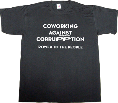 partido popular pp corruption useless spanish politics useless spanish media coworking network neutrality internet 2.0 t-shirt ephemeral-t-shirts