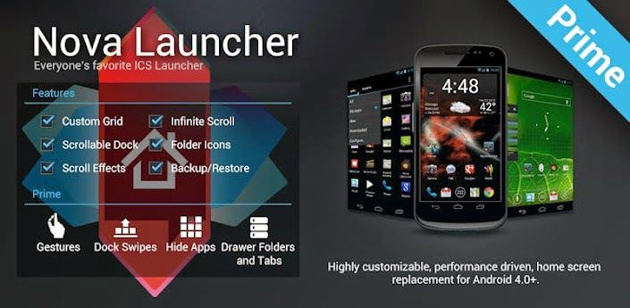 Aplikasi Android Terbaik Untuk Launcher