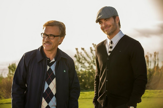 Christoph Waltz Chris Pine Horrible Bosses 2 still