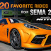 sema 2012: our top 20 favorite rides