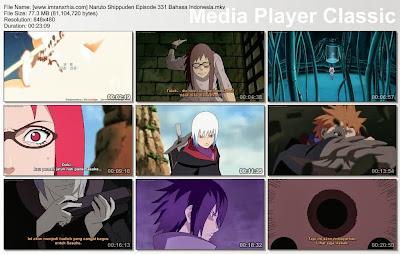 """Download Film / Anime Naruto Episode 331 """"Mata yang Melihat dalam Kegelapan"""" Shippuden Bahasa Indonesia"""
