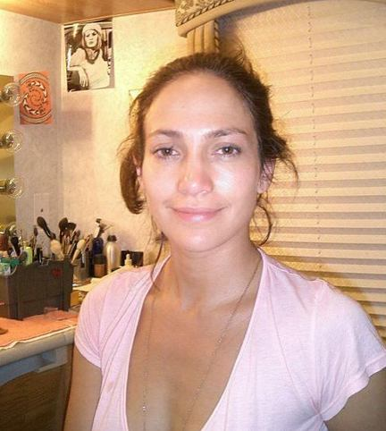 Life Jennifer Lopez on Jennifer Lopez No Makeup2 Jpeg