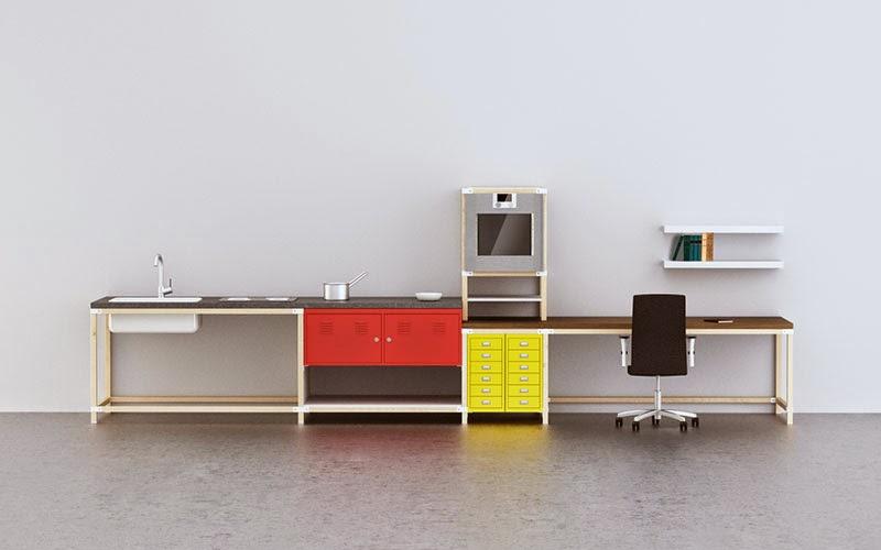 sistema modular IKEA Hacka para armar tú mismo la cocina
