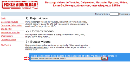 video musica descargar: