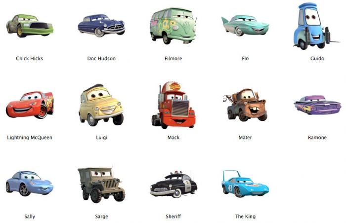 Cars 2 Cartoon Characters Names : Imagenes de dibujos animados cars