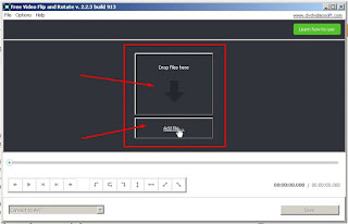 02 - Menambahkan File Video pada Aplikasi Free Video Flip and Rotate v2.2.2 build 913