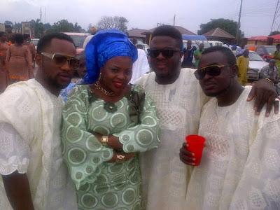adebayo salami wedding photos