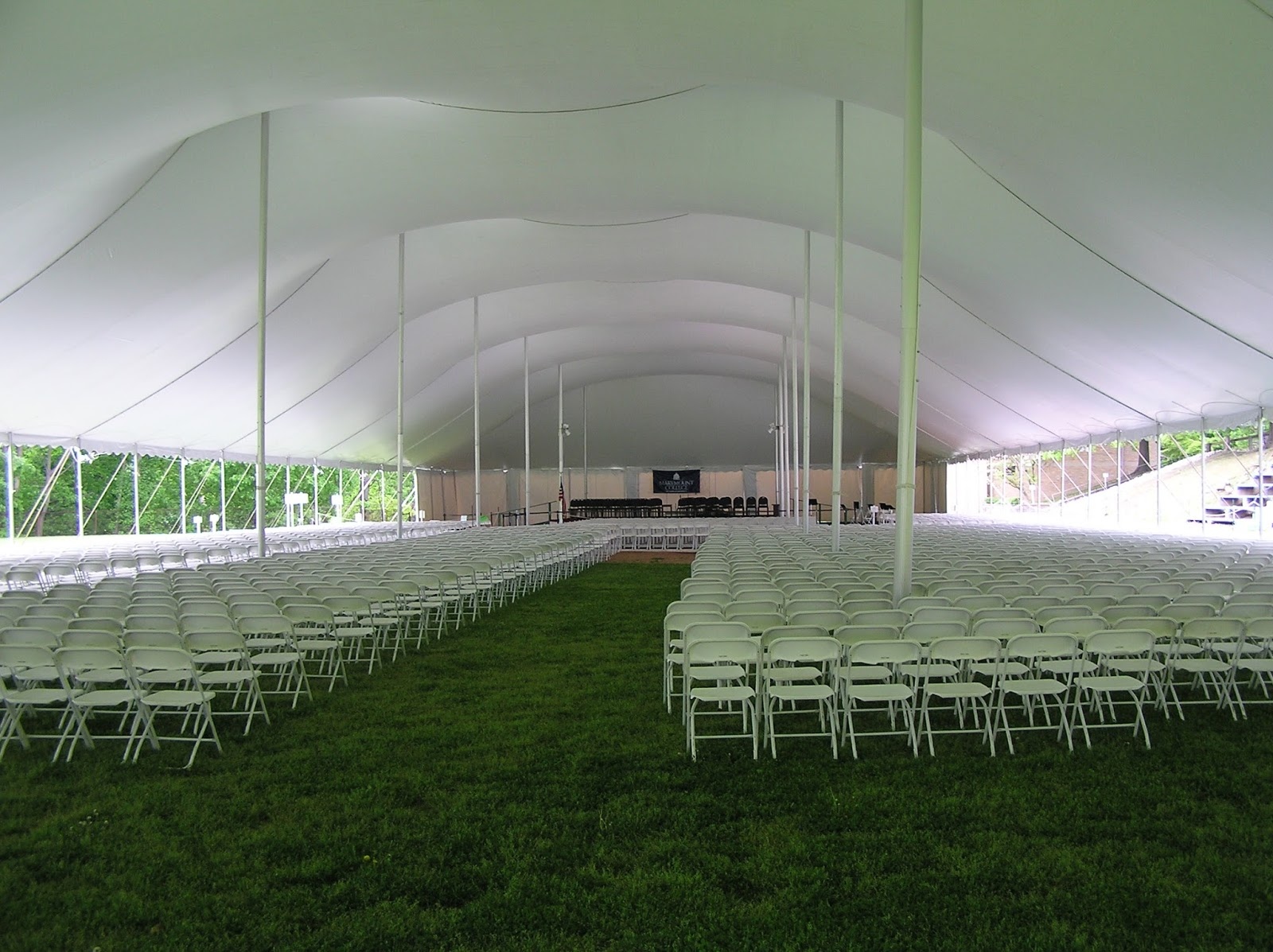 How can i identify a tent, temporary structure, marquee ...