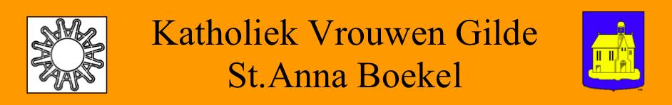 Katholiek Vrouwengilde St. Anna Boekel