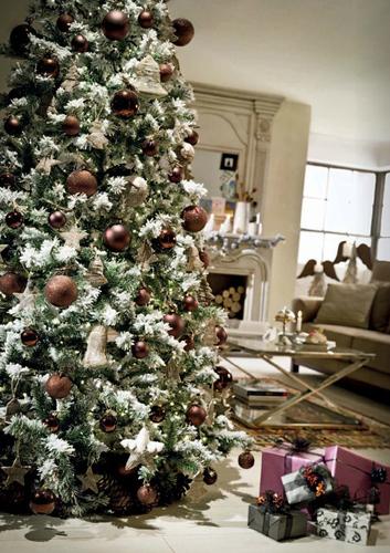El Corte Inglés árboles de Navidad