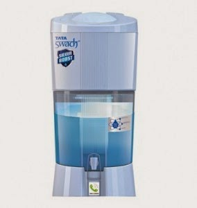 eBay: Buy Tata Swach 27 Litres Silver Boost Water Purifier at Rs. 2126