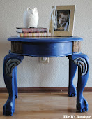 Claw Foot Side Table - $50