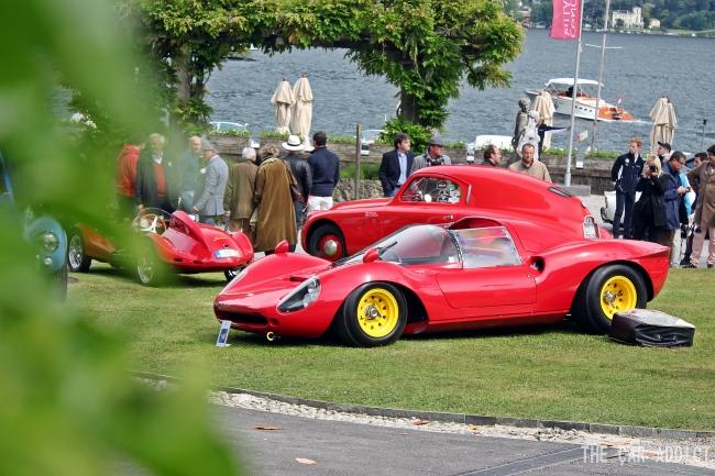 Ferrari Dino 166P 206P Concorso d Eleganza Villa d Este 2013