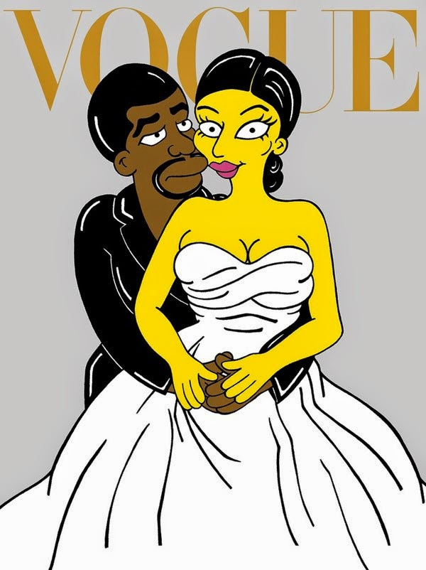 Kanye West Kim Kardashian animatedfilmreviews.filminspector.com