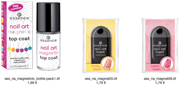 Essence Nail Art Magnetic Top Coat e Magnet