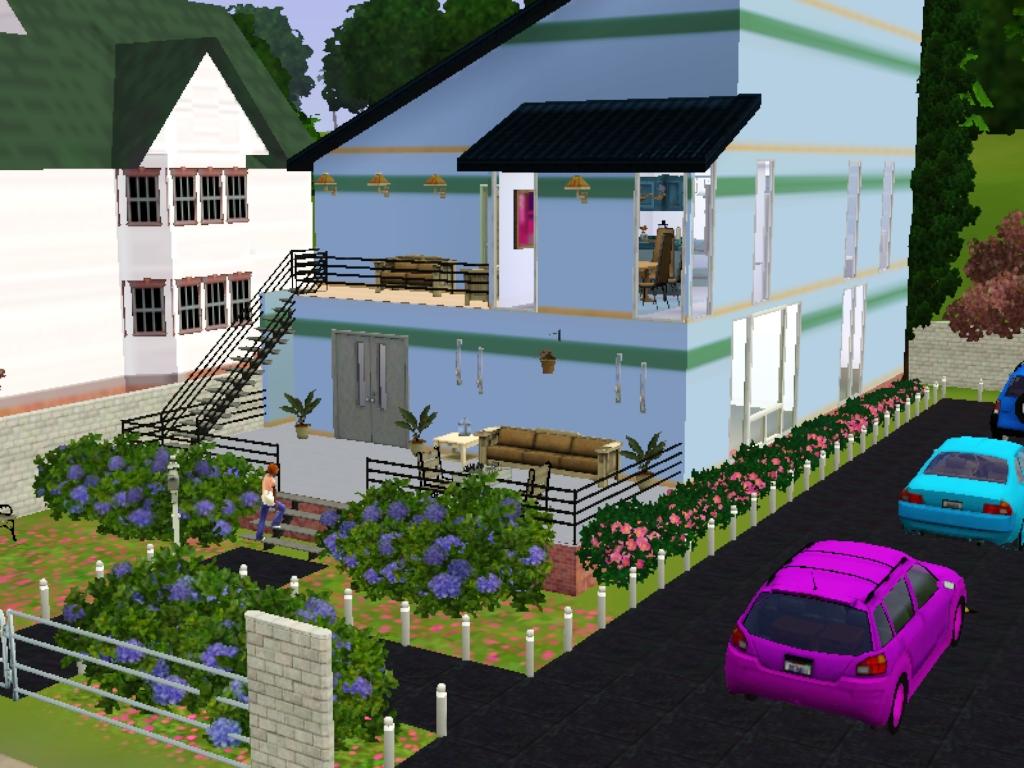 & Umu Humairo\u0027s World: Desain Rumah The Sims 3 - House 1