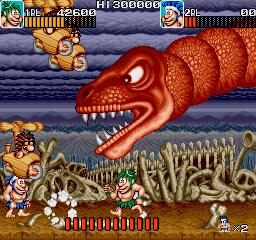 download arcade game portable caveman ninja joe & mac