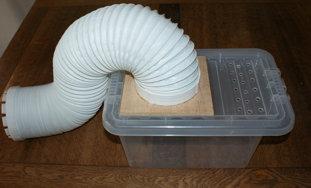 Clothes Dryer Vent Box ~ The shed and beyond how to build a condenser box for