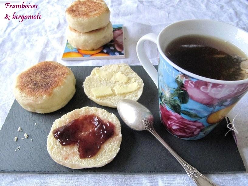 framboises bergamote muffins anglais. Black Bedroom Furniture Sets. Home Design Ideas
