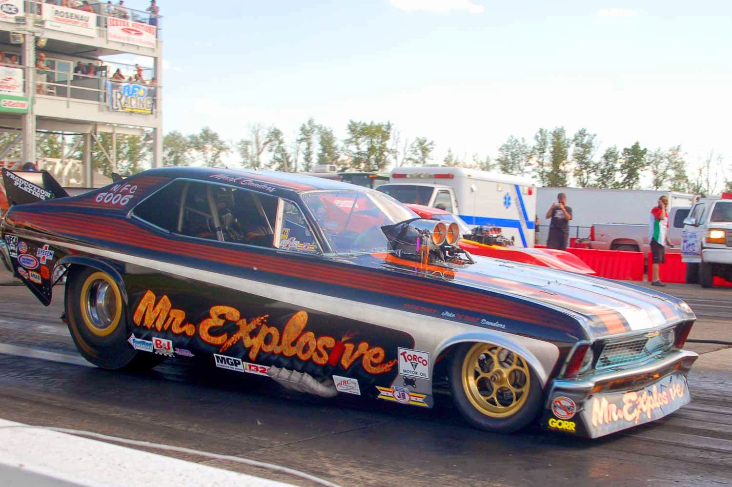 Nitro Funny Car Records Fall