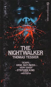 Portada de The Nightwalker, de Thomas Tessier