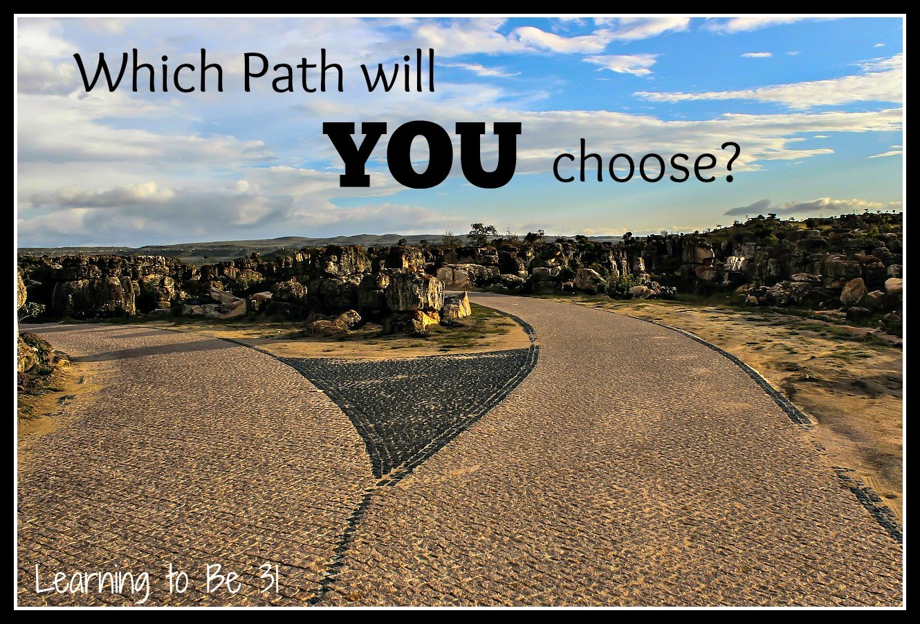 Two Paths Diverged,Two Roads Diverged, Psalm 81, Devotion, Gave Them Over, Israelites, Choices Affect Eternity