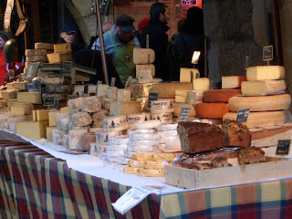 Cheese at the uber French street market